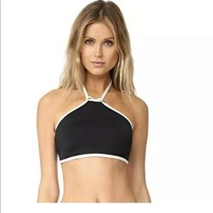 Kate Spade New York Plage Midi Bikini Top XS NEW